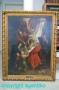 Altarbild Kreuzabnahme Jesus`Ölgemälde 1898 nach Rubens Original