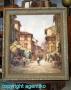 Reinhold Bartsch * Ölgemälde Leinwand * 1925 - 1990 * Florenz