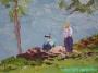 Arnold Graboné / Grabone * Ölgemälde auf Leinwand *