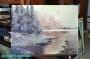 Arnold Graboné / Grabone Ölgemälde auf Leinwand * 60 x 80cm